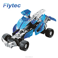 Flytec 2017A-20 163pcs Block 4 Ch 2.4Ghz 5 - in - 1 DIY Building Block Remote Control Intelligent DIY Model Car Toy