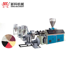 Automatic plastic recycling PVC agglomerated granulation line plastic recycling pelletizer machine