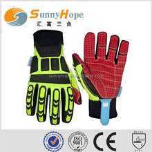 SUNNY HOPE custom made motorcycle gloves leather