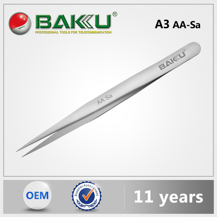 BAKU BK-A3 AA Sa Professional Smart Ceramic Volume Lash Tweezers For Eyelash Extension And Stamp