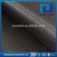 3k 200gsm Carbon Fiber Plain Weave Cloth