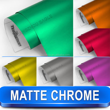 Rainbow Colored Matte Metallic Vinyl Film For Car Wrapping of Full Body or Partial Body