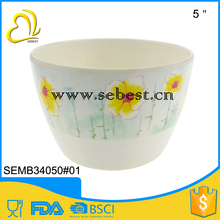 custom design melamine flower pots round decoration flower vase