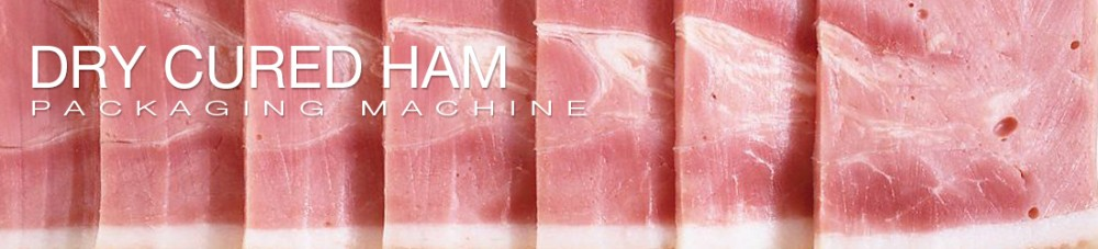Sliced duck ham vacuum thermoforming packaging machine