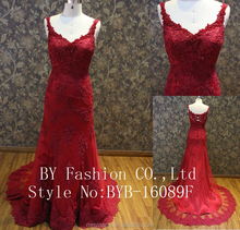 Red Toast Suit Clothing Short Bridal Sexy Lace Wedding Night Dress