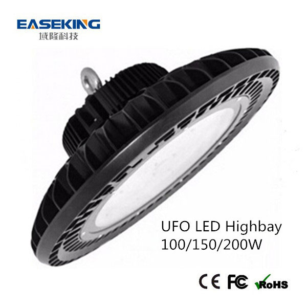 2017 New type of ufo high bay led lighting 150w pc cover for highbay