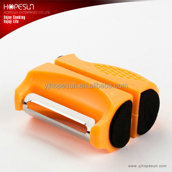 New design high grade multifunctional knife sharpener with peeler