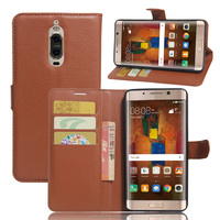 For Mate 9 Pro Case Popular Magnetic PU Leather Flip Wallet Case For Huawei Mate 9 Pro Cover
