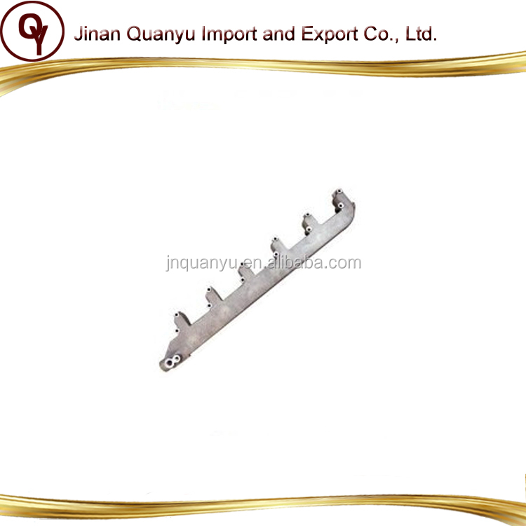 High quality Sinotruk HOWO heavy duty truck original EGR engine water outlet pipe VG1557040030