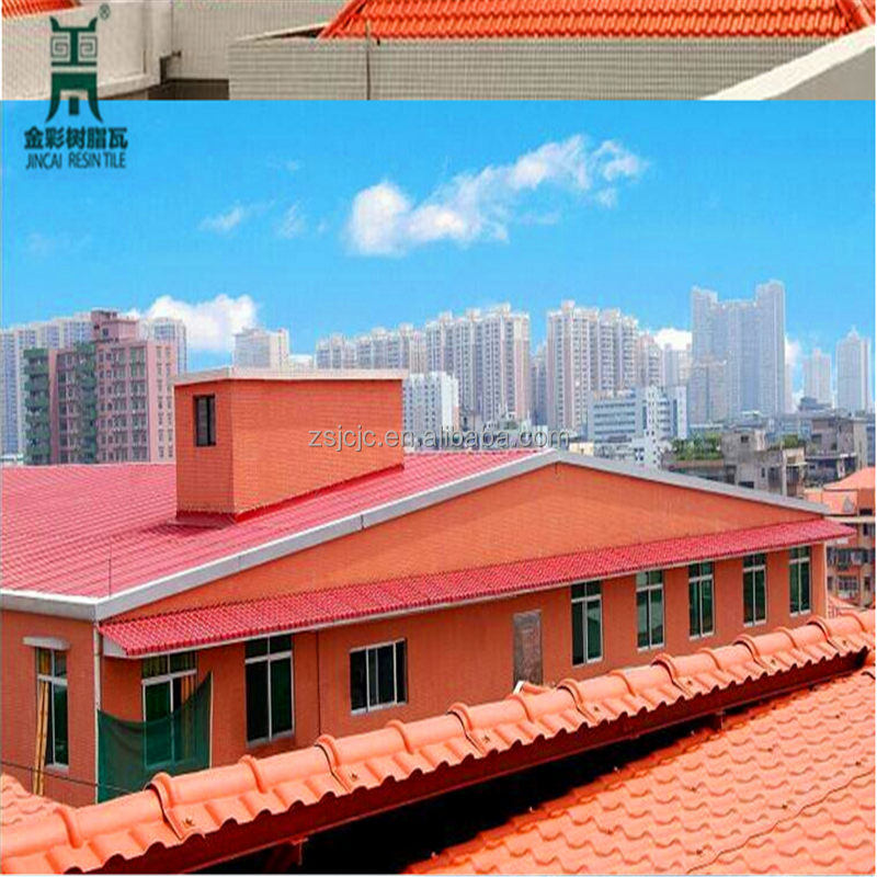 Lightweight Building Materials 3 Layer UPVC/APVC Plastic Roofing Sheet