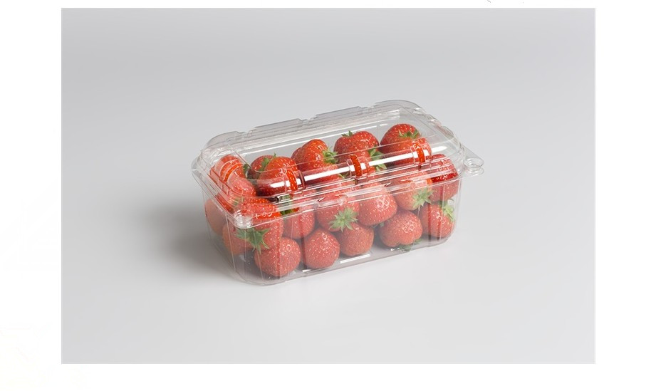 Clear Plastic Strawberry Punnet Fruit Plastic Container