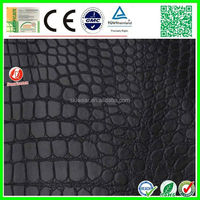 factory stock high quality pu/pvc synthetic leather nonwoven fabric