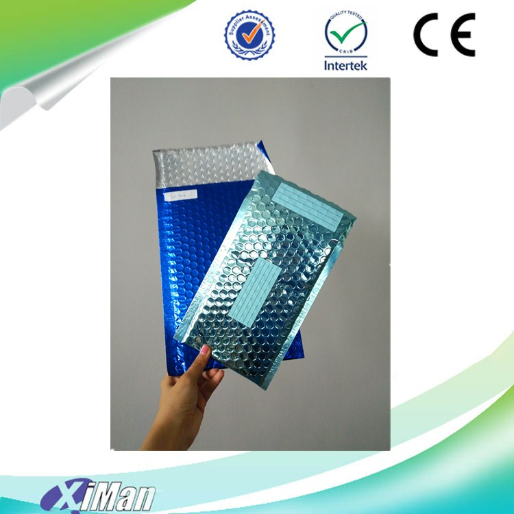 Custom printed decorative self sealing plastic poly bubble mailers mailing bags