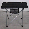 camp furniture aluminum alloy portable foldable light picnic table with a carry bag