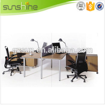 New products economic office wall partition in wood