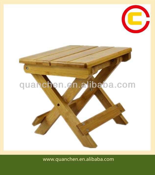 DIY Foldable Natural Color BambooFolding Chair