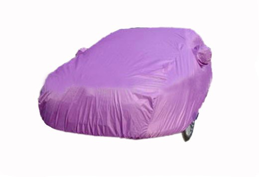 170T polyester coating silver fabric car cover at factory price