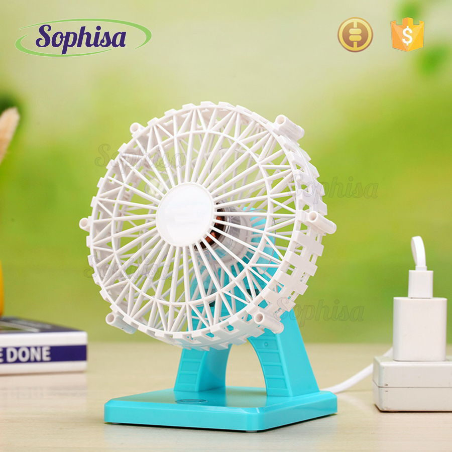 Rechargeable Ceiling Fan For Table and Wall Water Spray Cooling Mist