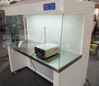 ISO CE certificated vertical laminar flow hood/clean bench