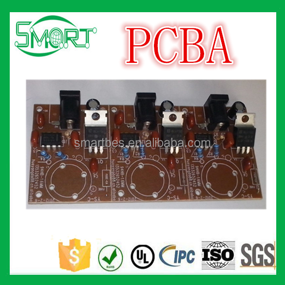 Smart Electronics Design and Development of PCBA Scheme for Industrial Automatic Spraying Machine PCB