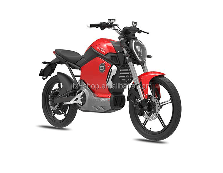 Smart Mobile APP Remote Control Cool Electric Motorcycle, 60V 1200W Sport Racing Motorcycle, Electric Motorbike Factory Price