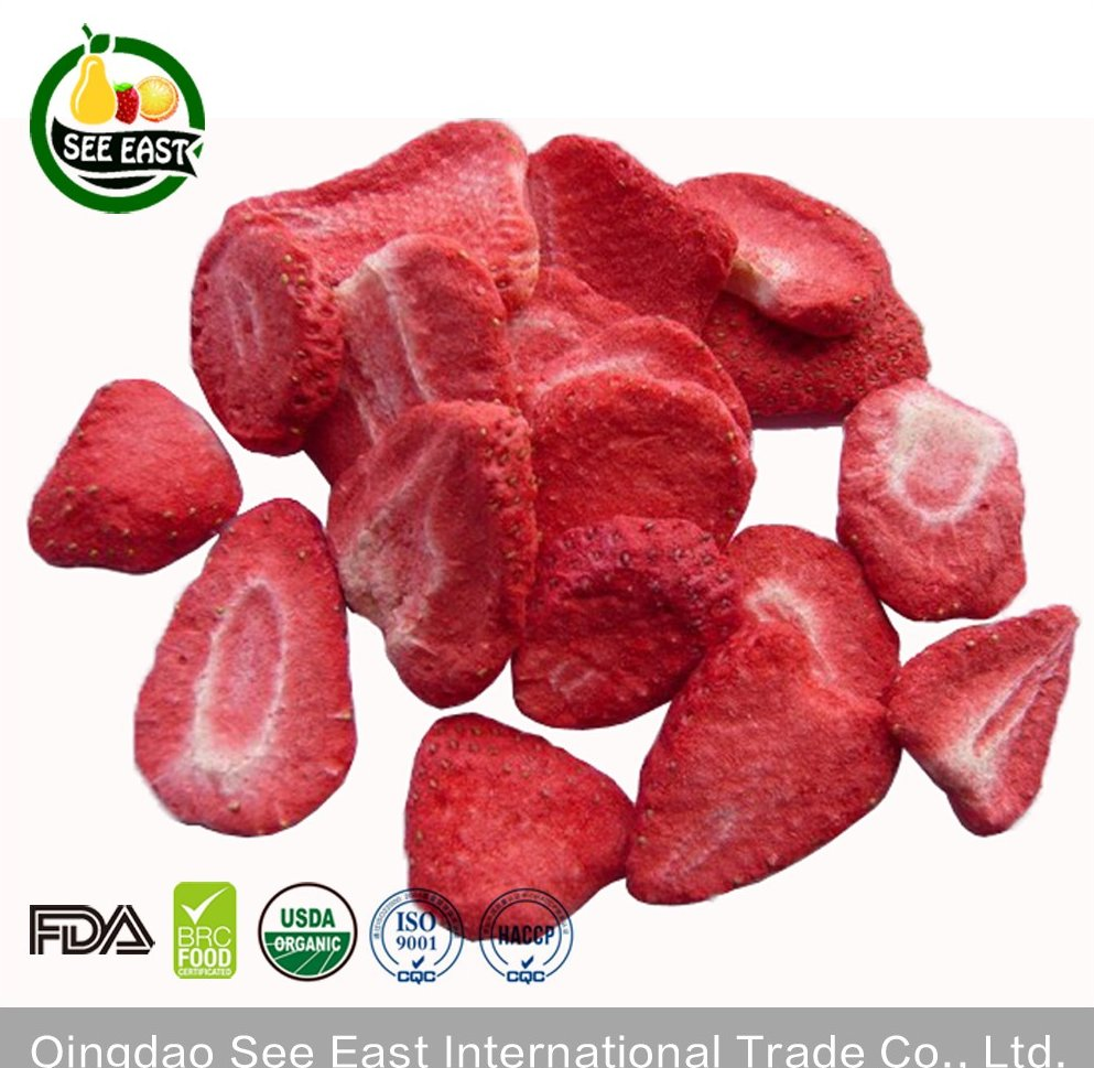 Top Quality FD Fruit Freeze Dried Strawberry For Healthy Snacks