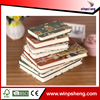 Factory price school supplies printing paper notebook with no spiral