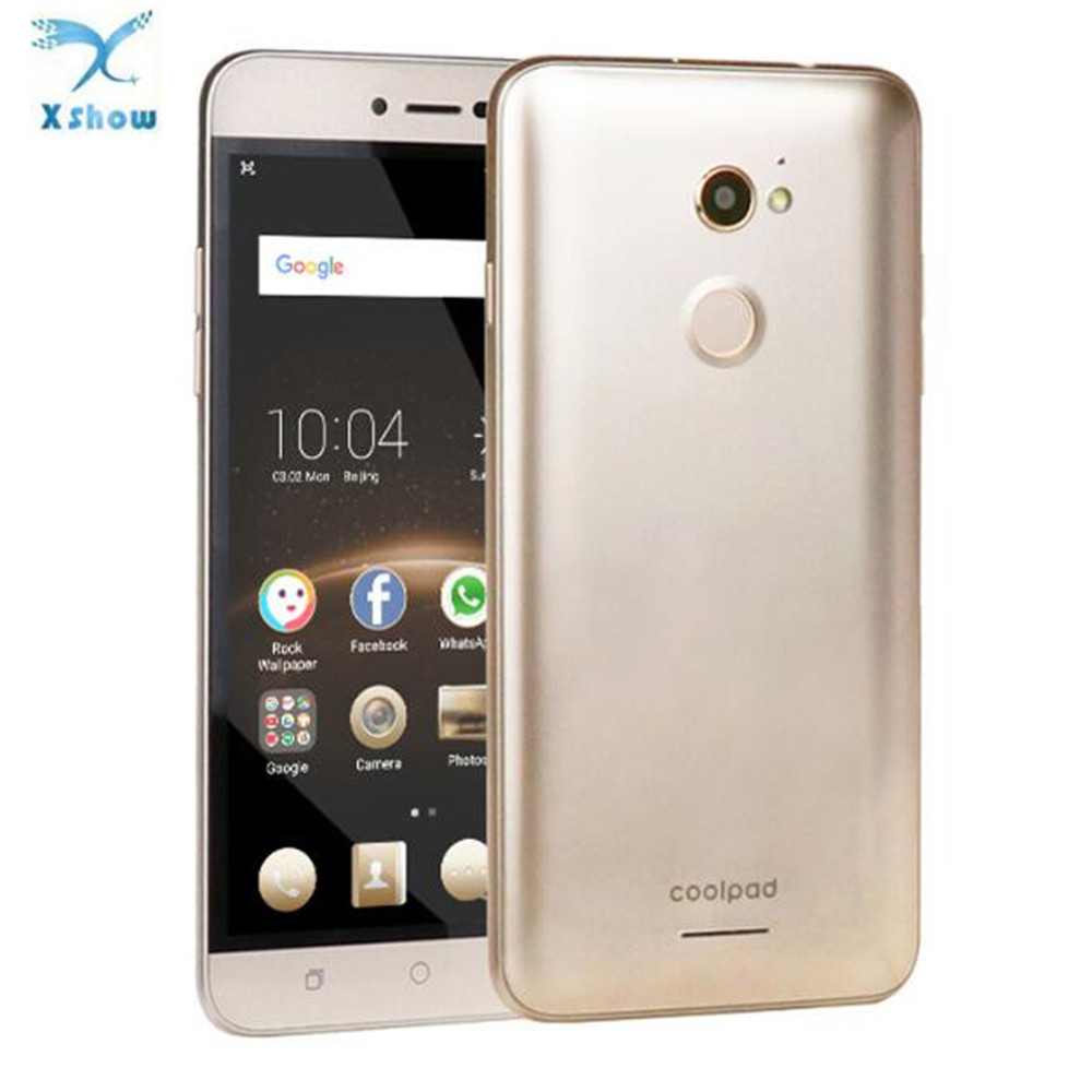"New Global Version Coolpad R108 5.5""FHD Octa-Core 1.4GHz 3G+32GB 5MP+13MP Daul <strong>SIM</strong> Android5.1 Fingerprint 1280*720 Mobile Phone"