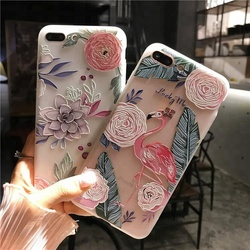 Embossment relievo phone case for iphone x, creative dull polish frosted soft tpu case for iphone 6/6s/6plus 7/7plus 8/8plus
