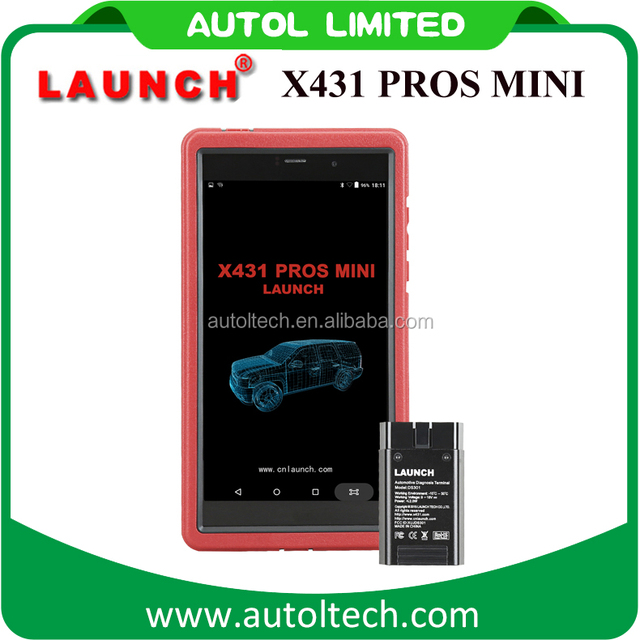 2017 new arrival android tablet scanner launch x431 pro with Alarm, calendar and calculator function launch x431 pros mini