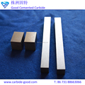 wearing resistance tungsten carbide bars strips ,square and flat carbide strips in various dimensions