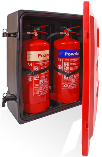 Support customization fire extinguisher box for different type fire extinguisher