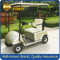single seat electric golf cart/Mini golf cart for 1 people made in China Coal Group