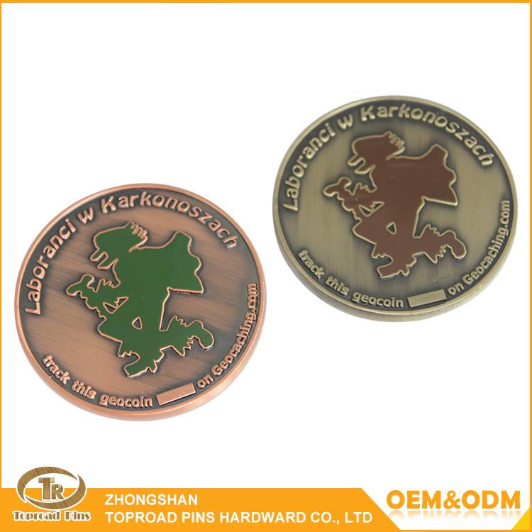 Wholesale china factory price cheap custom souvenir token coin