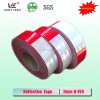 red-white PET reflective tape for motorcycle