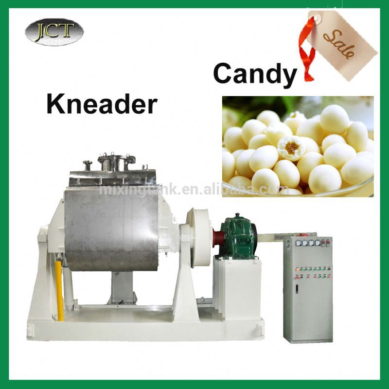 Vacuum z arm kneader mixer manufacturer for Small Candy and Bubble Gum Making