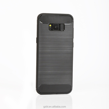 New Arrival Creative Soft Rubber tpu Brush Carbon Fiber Phone case back Cover for xiaomi redmi 4 4a 4x 4s prime mi 5c