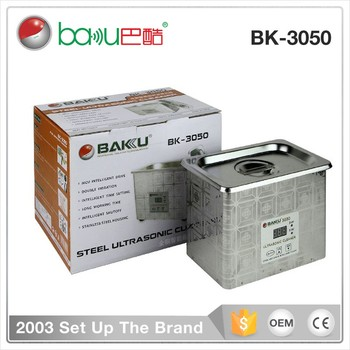 LCD Digital Display Electronic Used Ultrasonic Cleaners For Good Sale BAKU BK-3050 Mini Industry Ultrasonic Cleaner