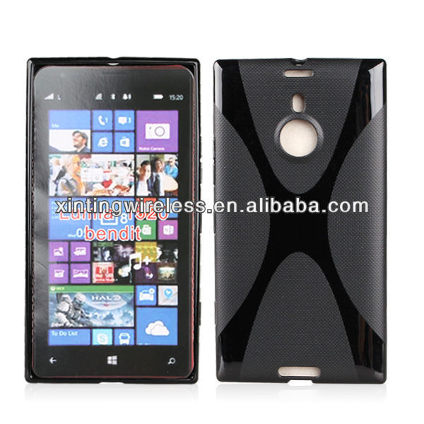 Gel Soft TPU Cell Phone Cover For Nokia Lumia 1520/Bendit