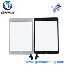 Touch Panel For ipad Mini 1 2 Touch Screen Digitizer Home Button Assembly with IC conector for ipad mini 1 & 2