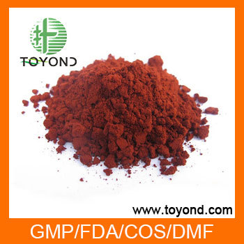 astaxanthin raw material 2.5% 10% CWS products