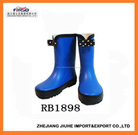 Cute Bowknot Rubber Boot for Kids