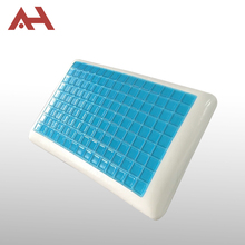 Factory supply hot rebound silicone cool gel memory foam bed pillow