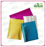Self adhesive glamour poly bubble padded envelopes