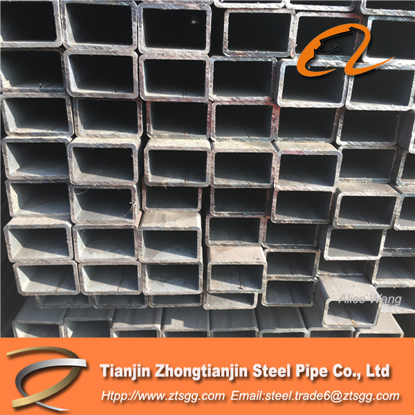 Attractive Price rectangular metal tubes with anti- rusty oil