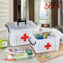 Portable plastic home applicane multi-purpose medical case Pill Case Box/Travel Pill Container