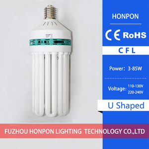 CFL-U Series 8 U CFL fluorescent lamp high-power energy-saving lamps of 180 w energy-saving lamps lighting warehouse