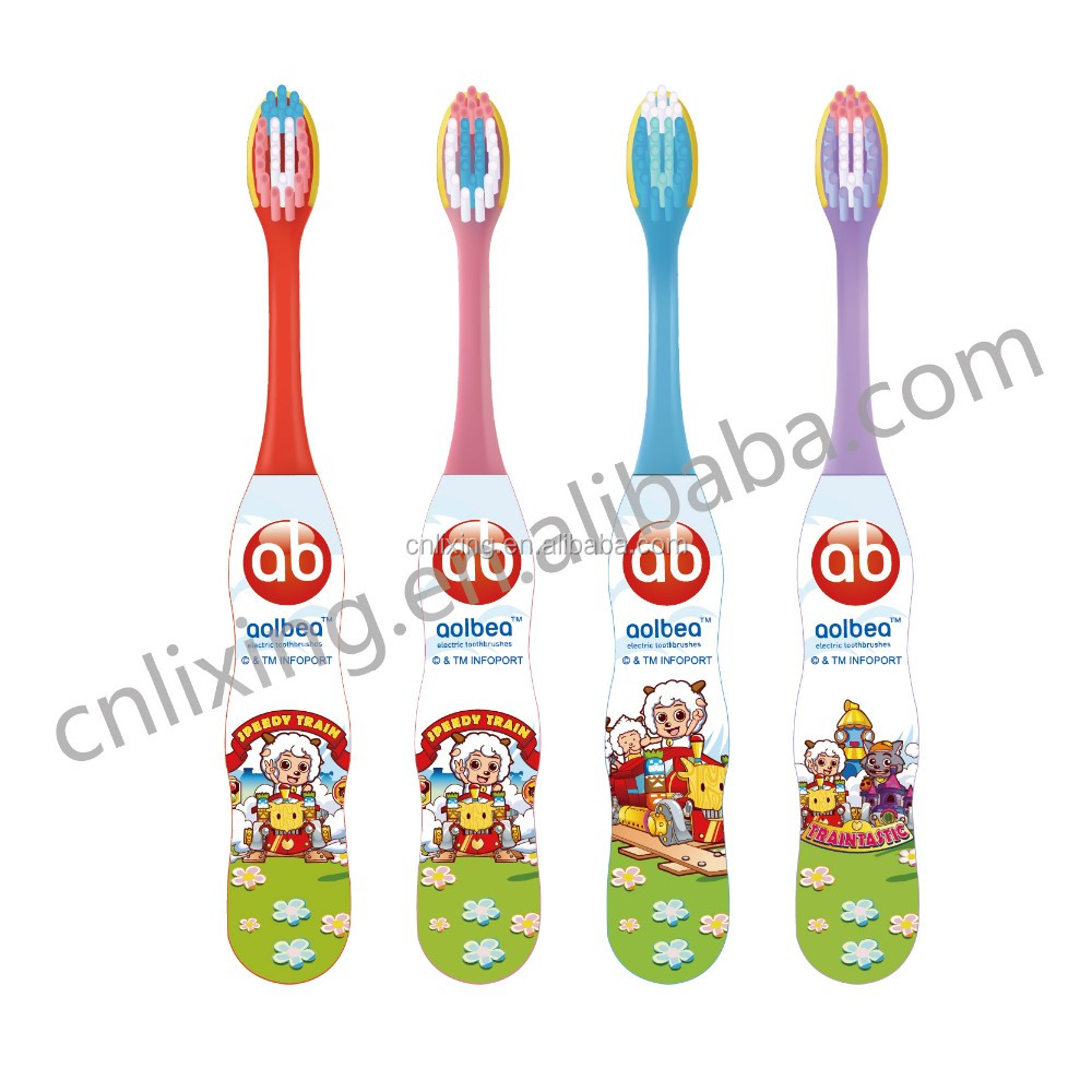 Kids electronic musical timer electric toothbrush children toothbrush