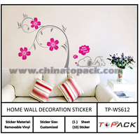 Professional Factory Cheap Wholesale Good Price self adhesive tree wall stickers from China workshop