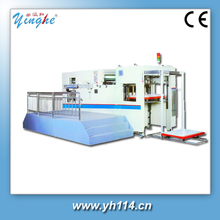 high speed automatic cardboard and corrugated die cutter